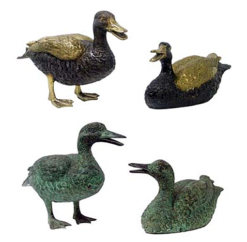 Bronze Duck Fountain/Statue - DD 1001