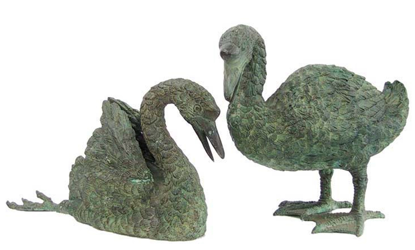 Bronze Duck Fountain/Statue - DD 1002