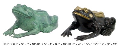 Bronze Frog Fountain/Statue - DD 1051