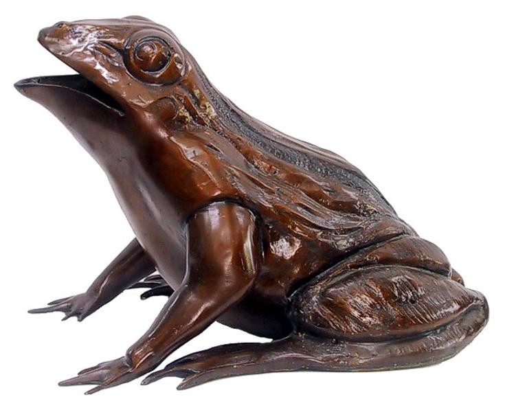 Bronze Frog Fountain/Statue - DD 1064