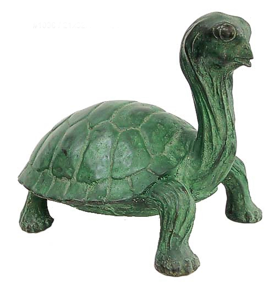 Bronze Turtle Spitter Fountain - DD 1096