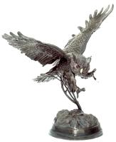 Bronze Owl School Mascot - ASB 116MO-Mascot