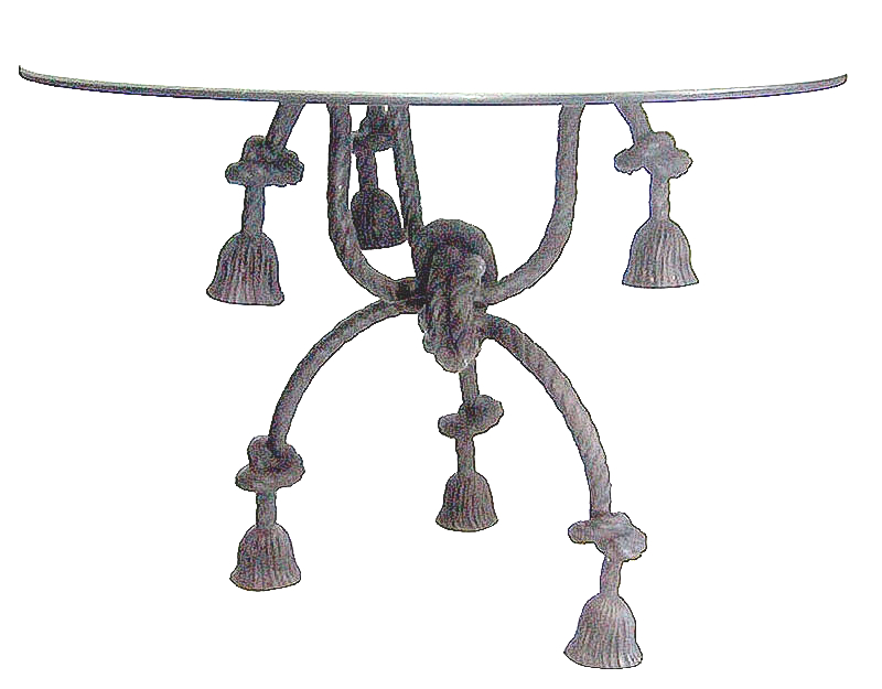 Bronze Rope Table - DD T-1221