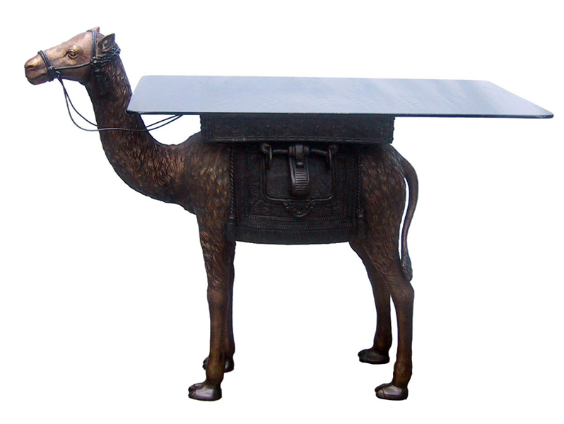 Bronze Camel Table - DD T-1222