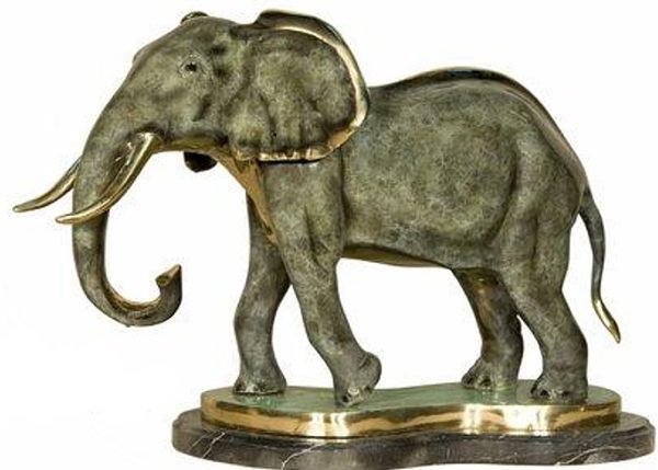 Bronze Elephant Statues