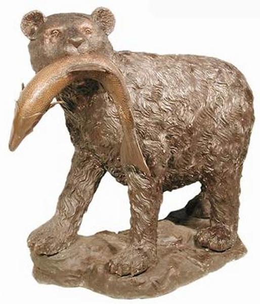 Bronze Bear Statues - AF 28565