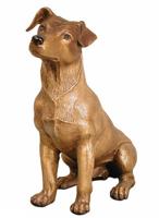 Bronze Dog Statue - AF 28777