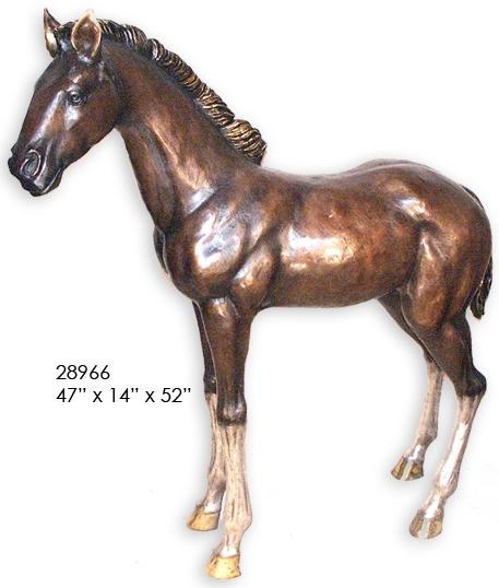 Bronze Colt Statues - AF 28966
