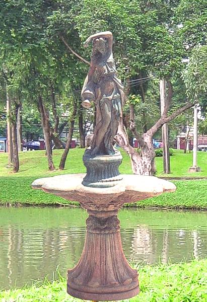 Bronze Maiden Fountain - BB 30-6