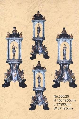 Bronze Ladies Cupid & Fountain - BB 306-20