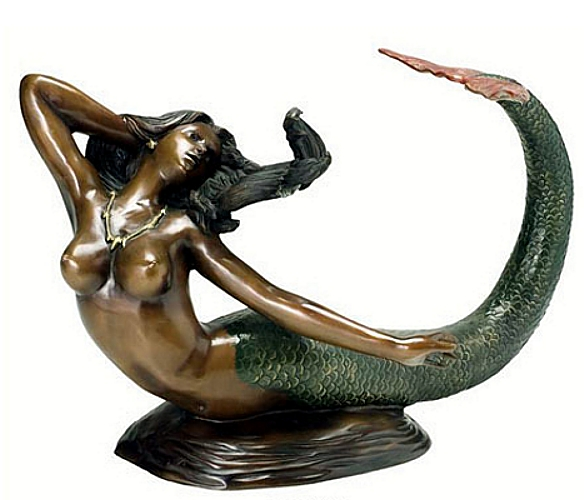 Bronze Mermaid Table - AF 32015