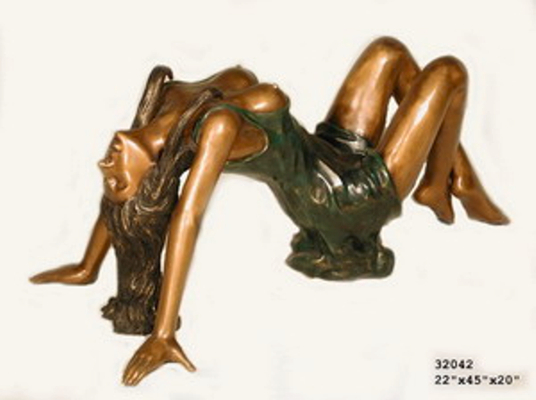 Bronze Sexy Lady Table - AF 32042-1