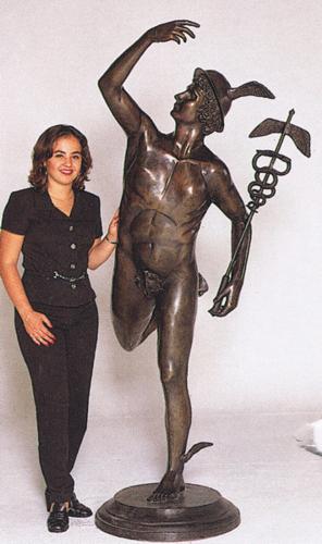 Bronze Mercury Statue - ASB 362MO