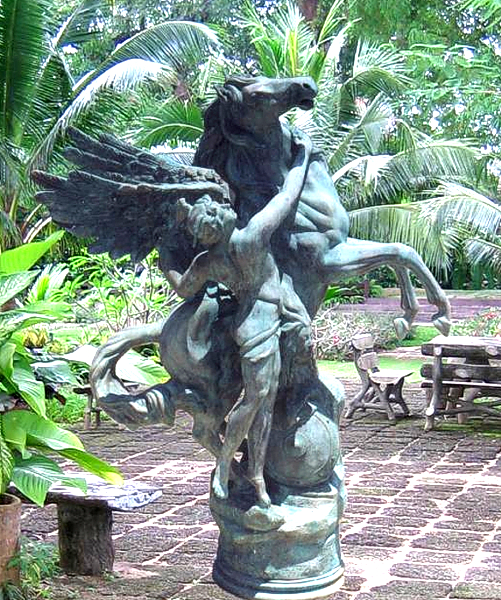 Bronze Pegasus Fountain - BB 45-18-B