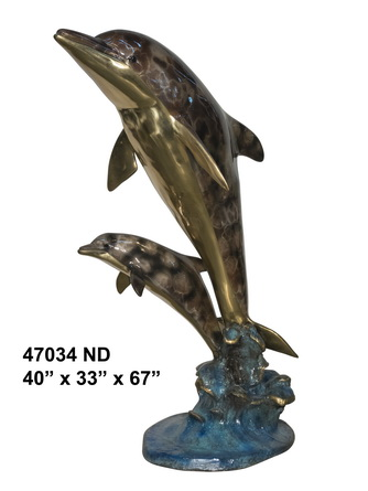 Bronze Dolphin Fountains - AF 47034NA