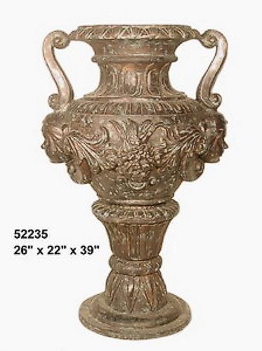 Bronze Urn with Handles - AF 52235
