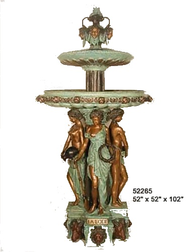 Bronze Four Seasons Fountain - AF 52265