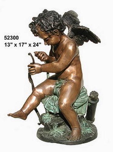 Bronze Cupid Statues - AF 52300