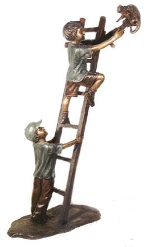 Bronze Children Statues - AF 52360
