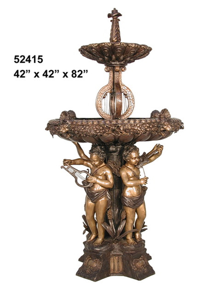 Bronze Musical Fountain - AF 52415