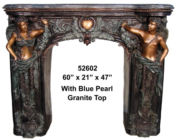 Bronze Fireplace Surrond - AF 52602