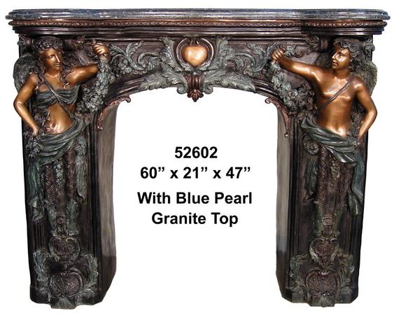 Bronze Fireplace Surround - AF 52602