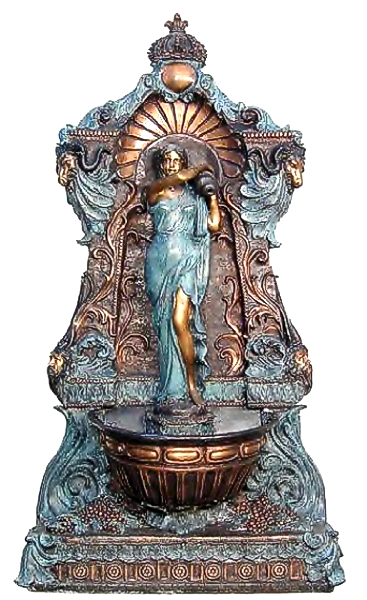 Bronze Wall Fountain - AF 52620
