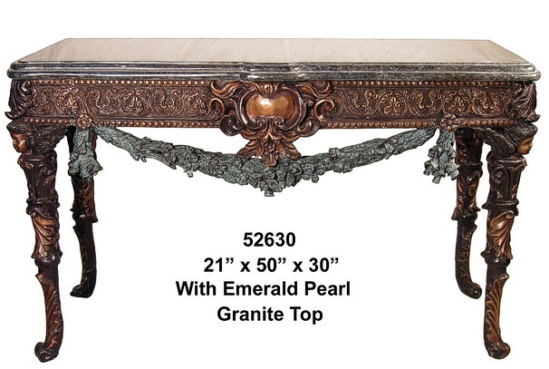 Bronze Console Table - AF 52630