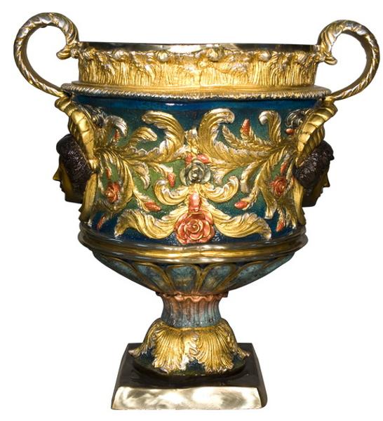 Bronze Urn with Handles