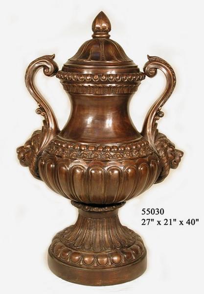 Bronze Handle Urn - AF 55030