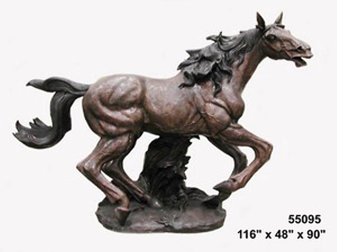 Bronze Horse Statues - AF 55095
