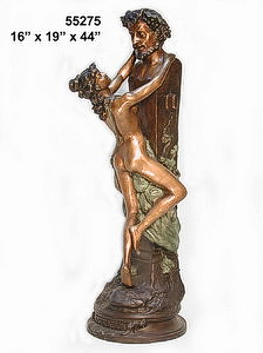 Bronze Nude Lady Statues - AF 55275