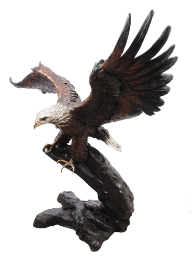 Bronze Eagle Statues - AF 55846TS