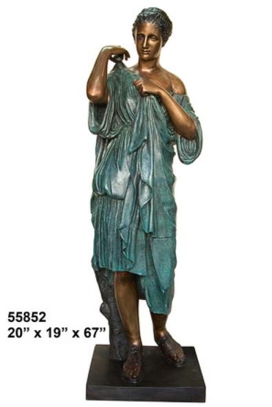 Bronze Roman Senator Statues - AF 55852