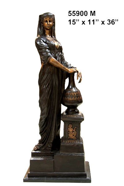 Bronze Egyptian Princess Statue - AF 55900M.jpg