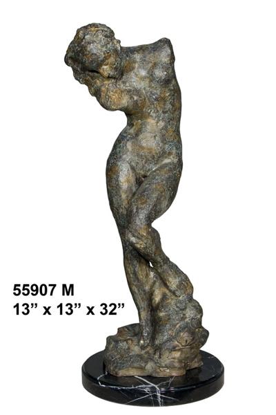 Bronze Female Statue - AF 55907M
