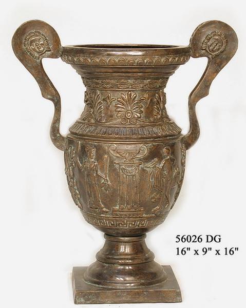 Bronze Handle Urn - AF 56026 DG