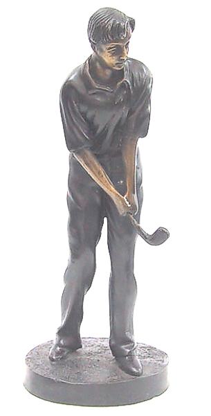 Bronze Male Golfer Statue - DD 5609
