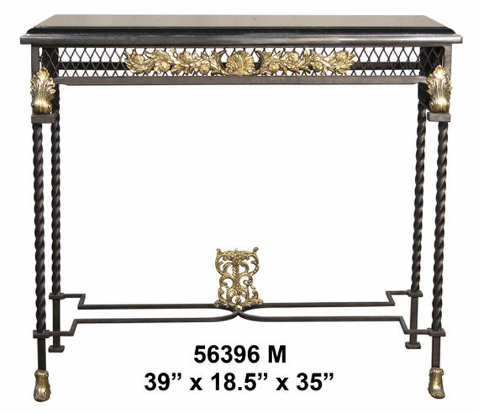 Bronze Console Table - AF 56396M