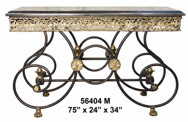 Bronze Console Table - AF 56404M