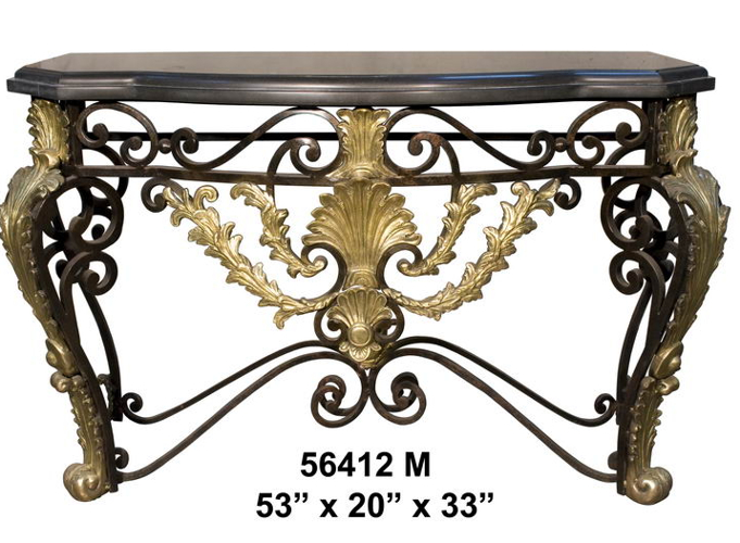 Bronze Console Table - AF 56412M