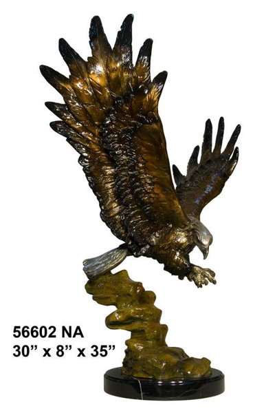 Bronze Eagle School Mascot - AF 56602NA-Mascot