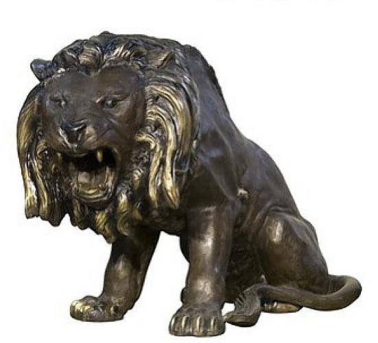 Bronze Lion Statues - AF 56666