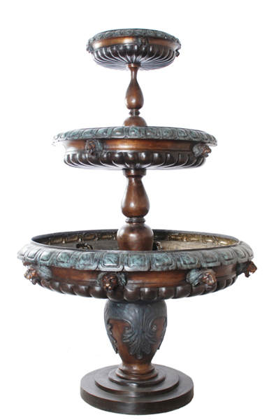 Bronze Tiered Fountains - AF 57602