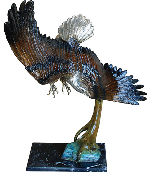 Bronze Eagle Statues | Bird of Prey - AF 57619NA