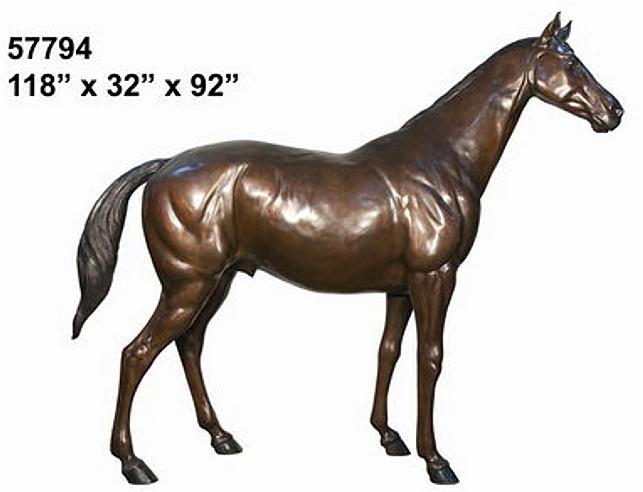 Bronze Horse Statues - AF 57794