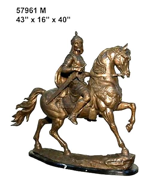 Bronze Horse Statues - AF 57961