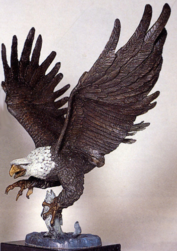 Bronze Eagle Statues | Bird of Prey - ASB 646