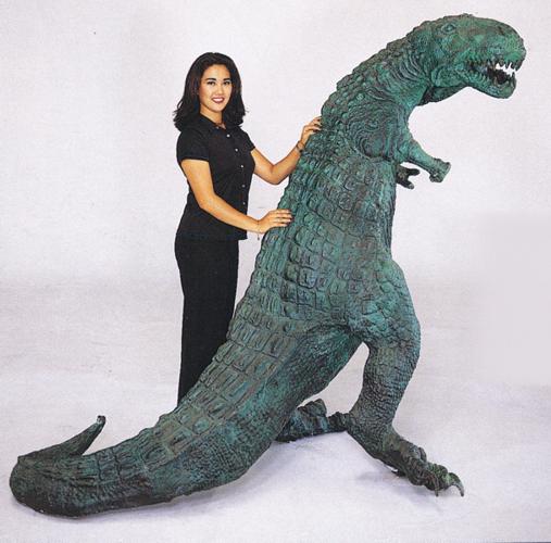 Bronze Dinosaur Statue - ASB 661