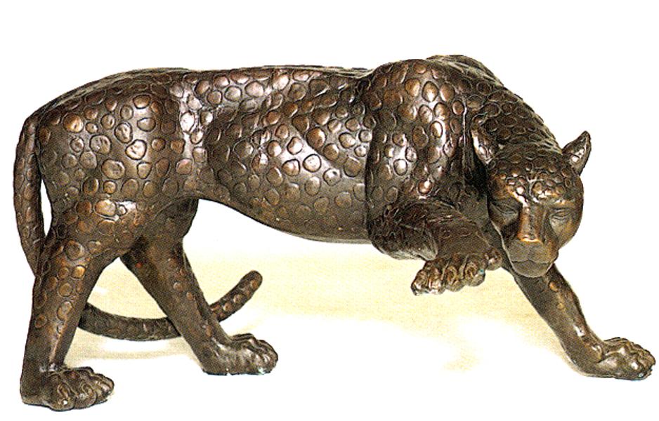 Bronze Cheetah Statues - ASB 663